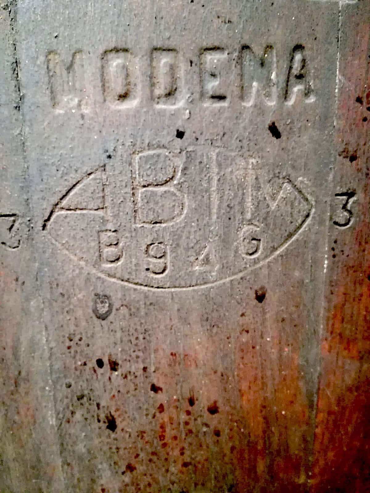 aceto balsamico tradizionale modena